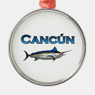Cancun Blue Marlin Christmas Tree Ornament