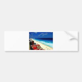 Cancun Bumper Sticker