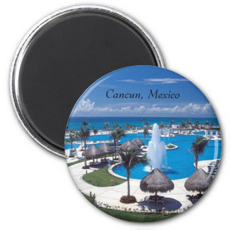 Cancun, Cancun, Mexico 2 Inch Round Magnet
