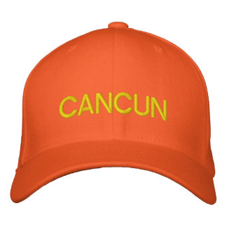 Cancun Cap Embroidered Hats