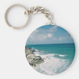 Cancun Coast Keychain