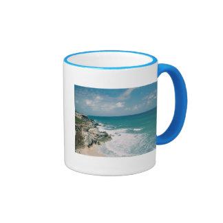 Cancun Coast Coffee Mugs