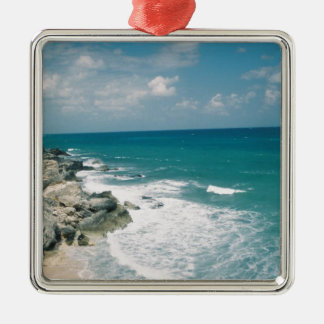 Cancun Coast Christmas Tree Ornaments