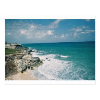 Cancun Coast Postcard
