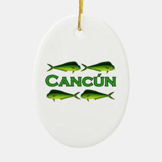 Cancun Dorado Ornaments