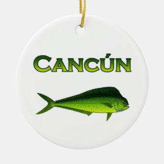Cancun Dorado Christmas Ornament