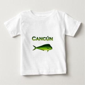 Cancun Dorado Playera De Bebé