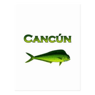 Cancun Dorado Postcard