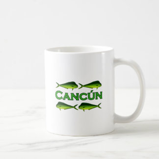 Cancun Dorado Taza Clásica