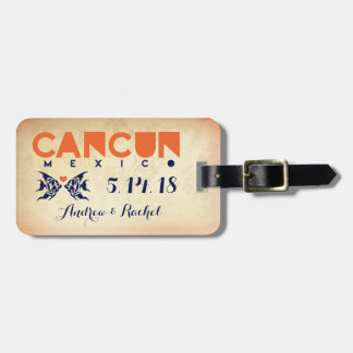 CANCUN Luggage Tag