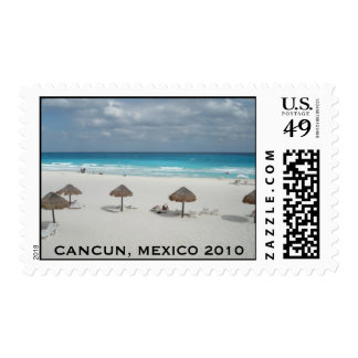CANCUN, MEXICO 2010 POSTAGE STAMP