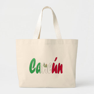 Cancun, Mexico Tote Bags