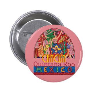 CANCUN Mexico Button
