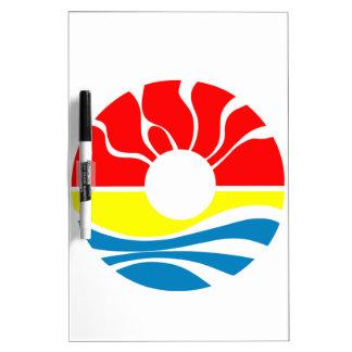 Cancun Mexico Dry-Erase Board