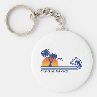 Cancun México Llavero Redondo Tipo Pin