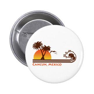 Cancun Mexico Pinback Button