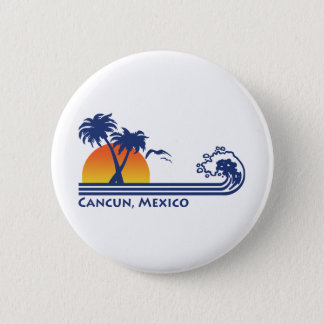 Cancun Mexico Pinback Button