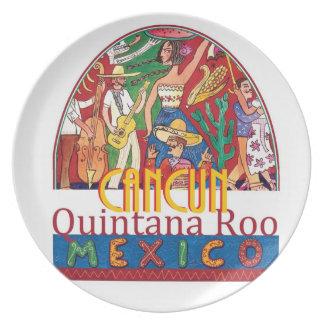 CANCUN Mexico Plate