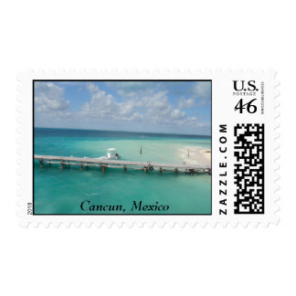 Cancun Mexico Postage Stamp