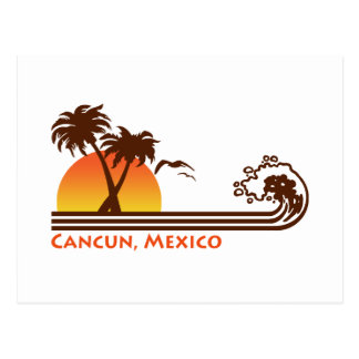 Cancun Mexico Postcard