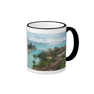 Cancun Mexico Ringer Mug