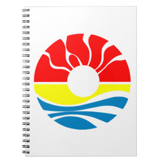 Cancun Mexico Spiral Notebook