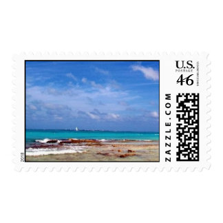 Cancun Mexico Stamp