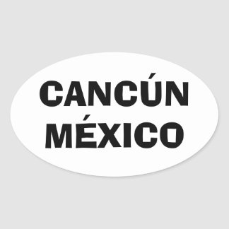 Cancun, Mexico Stickers