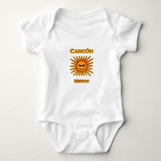 Cancun México Sun hace frente al icono Body Para Bebé