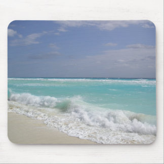 Cancun Ocean Waves Mouse Pad