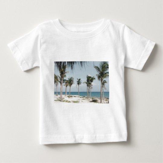 Cancun Palms Baby T-Shirt