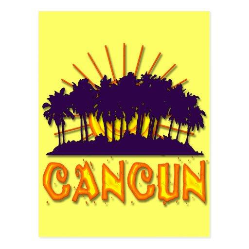 CANCUN POST CARD