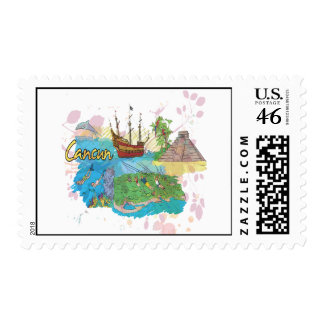 Cancun Postage Stamp