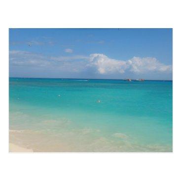 Beach Themed Cancun Postcard