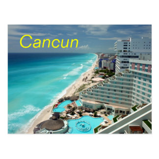 Cancun postcard