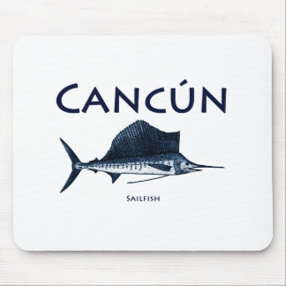 Cancun Sailfish Mouse Pad
