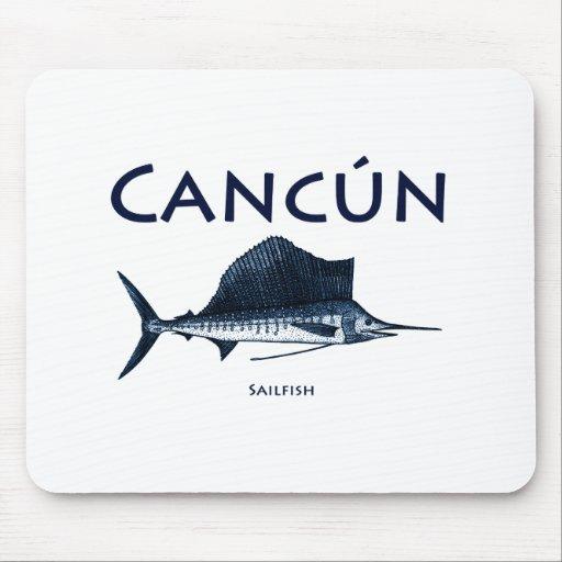 Cancun Sailfish Mousepads