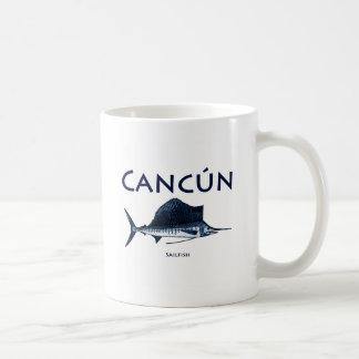 Cancun Sailfish Coffee Mug