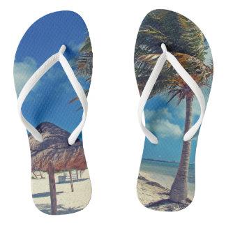 Cancún, Slim Straps Flip Flops