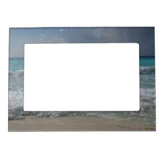 Cancun Waves Magnet Picture Frame