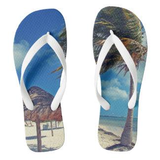 Cancún, Wide Straps Flip Flops