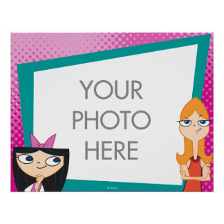 Candace and Isabella Customizable Posters