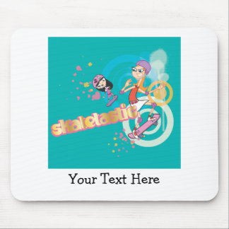 Candace and Isabella Skatetastic Mouse Pad