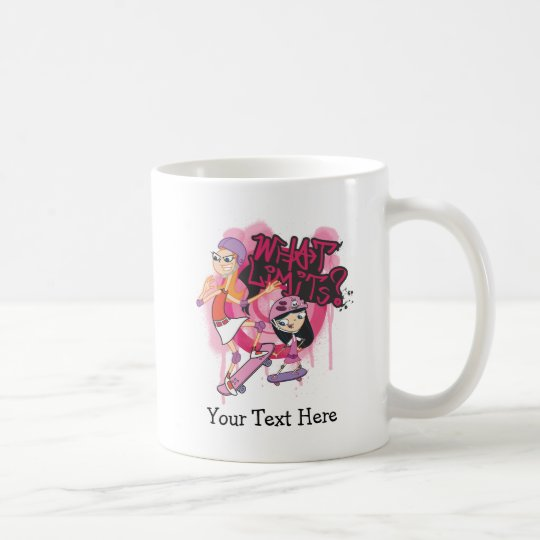 Candace and Isabella - What Limits Coffee Mug