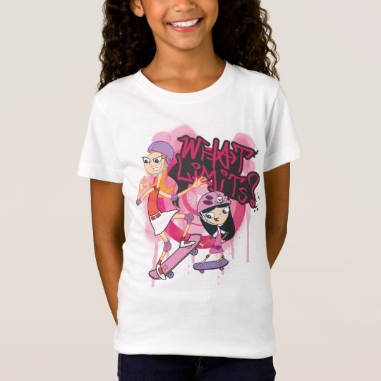 Candace and Isabella - What Limits T-Shirt