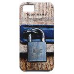 ¡Candado - la cerradura divertida lo mantiene iPhone 5 Case-Mate Protector