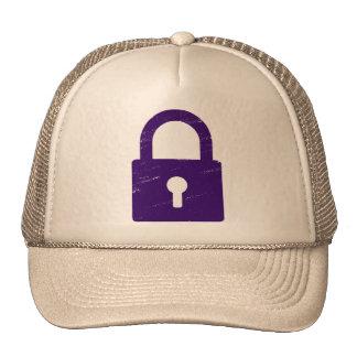 Candado texturizado - diversos colores disponibles gorra