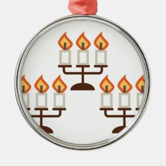 Candelabra Metal Ornament