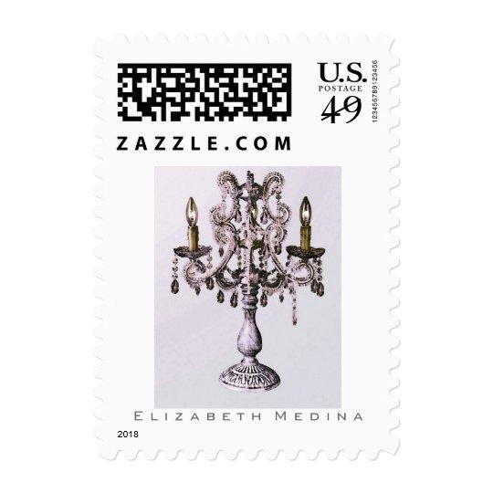 Candelabra ~ Postage Stamps