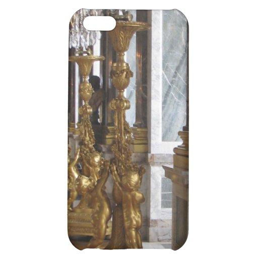 Candelabras de oro, castillo francés de Versalles